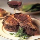 Grilled Porterhouse Steak & Warm Spinach Salad – 100 Mile Diet Friendly!